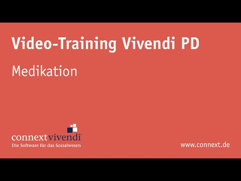 Vivendi PD - Medikation