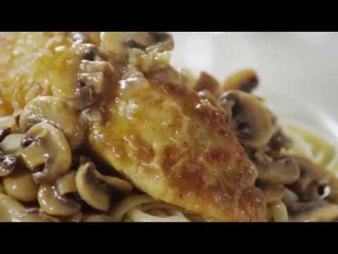 How to Make Mushroom Chicken Piccata | Chicken Recipes | Allrecipes.com