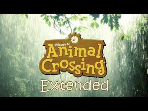 Relaxing Animal Crossing Rainy Day Music + Rain Sounds 🌧️ (Extended Ver.)