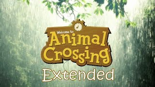 Relaxing Animal Crossing Rainy Day Music + Rain Sounds  (Extended Ver.)