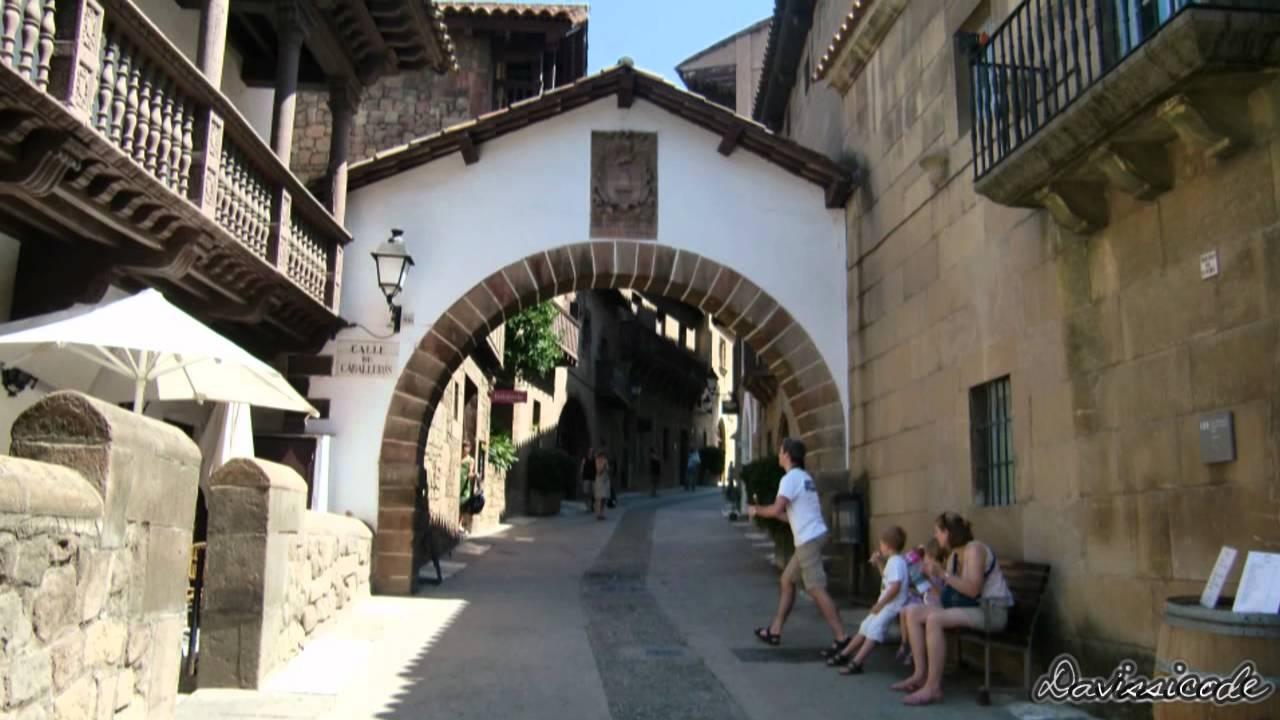 Spanish Village Of Barcelona Hd Youtube