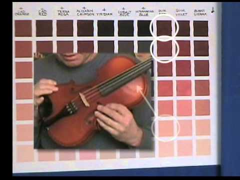 Thomas Baker - Making Color Charts Part 1/3