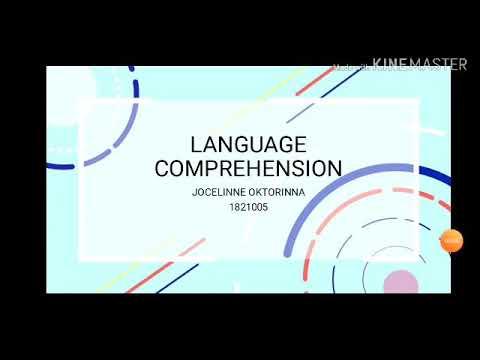 Download Language Comprehension - Jocelinne Oktorinna