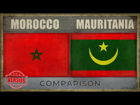 MOROCCO vs MAURITANIA - Military Comparison (2018)