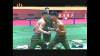 Северная Корея КНДР . Тренировки Спецназа