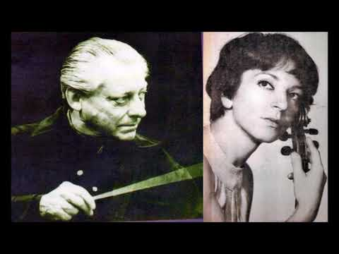 """Mendelssohn """"Violin Concerto in E"""" Wanda Wilkomirska"""