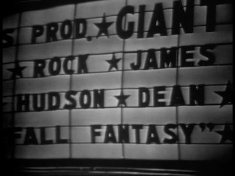 George Stevens's Giant New York Premiere (1956) documentary