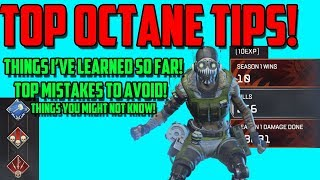 Apex Legends - Top Octane Tips and Tricks | Useful Things you might Not Know!