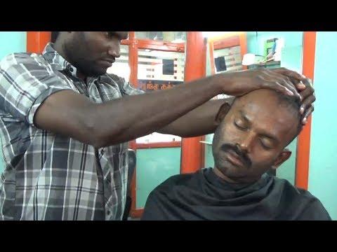World's Best Upper Body Massage ~ Scalp ,Head ,Ear, Neck, Shoulder ,Back, Hand ,Finger Massage,,