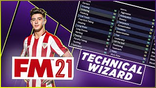 The Next Messi for £6.5m? A Technical Wizard | FM21 Player Spotlight |