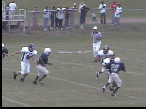 byhalia middle school football highlight