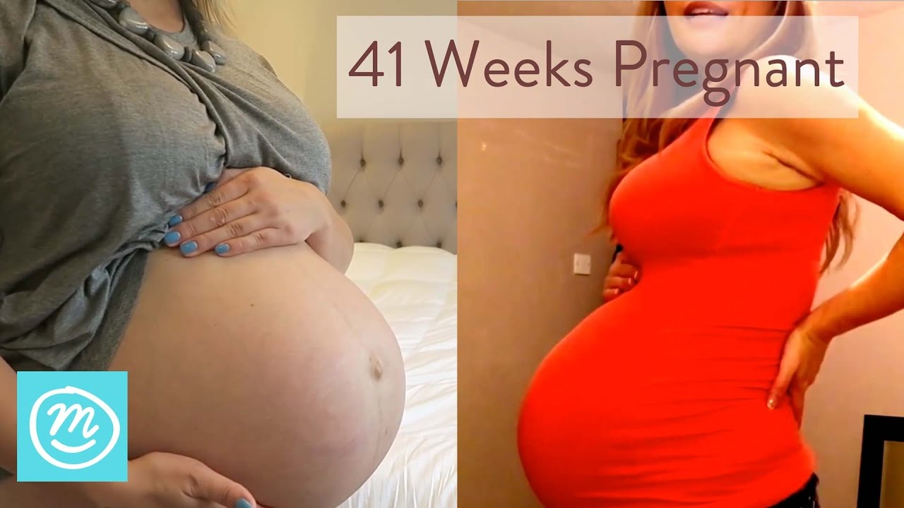 8db723bdf96e4 41 Weeks Pregnant: What To Expect - Channel Mum - YouTube