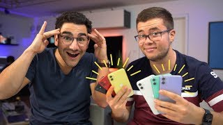 iPhone 11 Unboxing mit Julian   alle Farben!