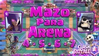 La Mejor Baraja Belica O Mazo Para Arena 4,5,6 y 7 | Esqueleto Gigante Es Mortal | [Shadow Clash] EP thumbnail