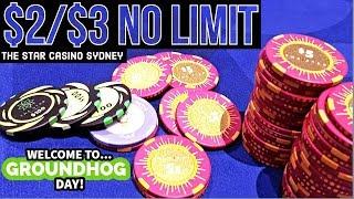 Groundhog Day Grinding $2/$3 Star Casino | Poker Vlog #30