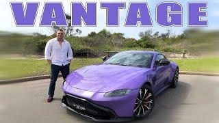 2019 Aston Martin Vantage V8 Worth The Wait Road Review Youtube