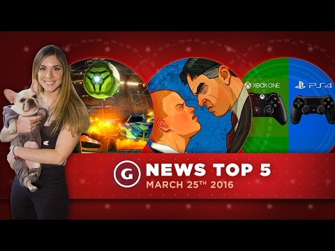 Bully & Manhunt Surprise Re-release, Cross Platform Play, and More! - GS Top 5 News