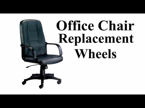 office chair replacement wheels shiatsu massage pad improvement youtube