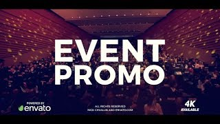 After Effects Template: Event Promo