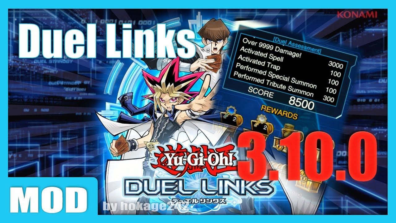 Yu-Gi-Oh! Duel Links 3.9.1 MOD APK by hokage242  #Smartphone #Android