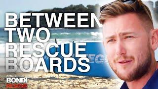 Between 2 Rescue Boards Jake Bondi Rescue S12 Youtube