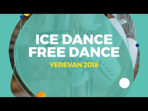 Ushakova Arina / Nekrasov Maxim (RUS) | Ice Dance Free Dance | Yerevan 2018