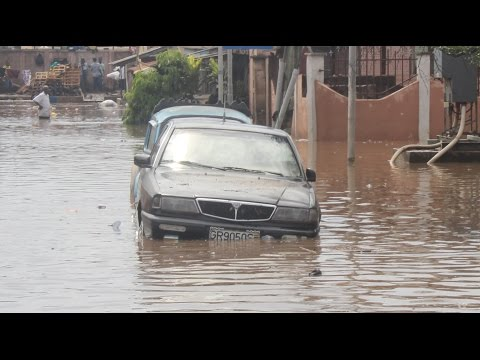 What 2 hour rain did to Accra