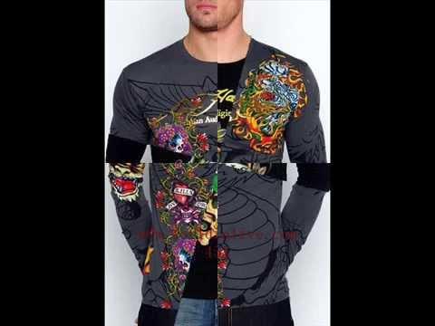 Ed Hardy Long Sleeve T-Shirts