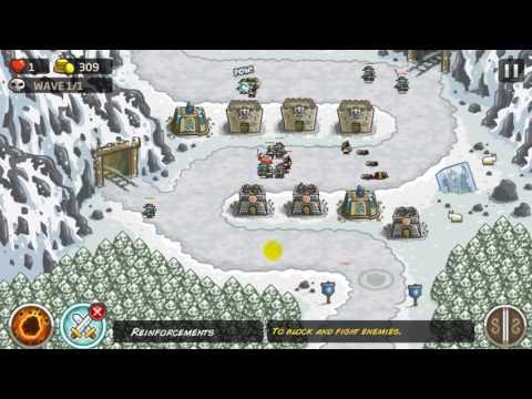 Kingdom Rush - Coldstep Mines - Iron Challenge - Casual - Lösung Solution Answer Walkthrough