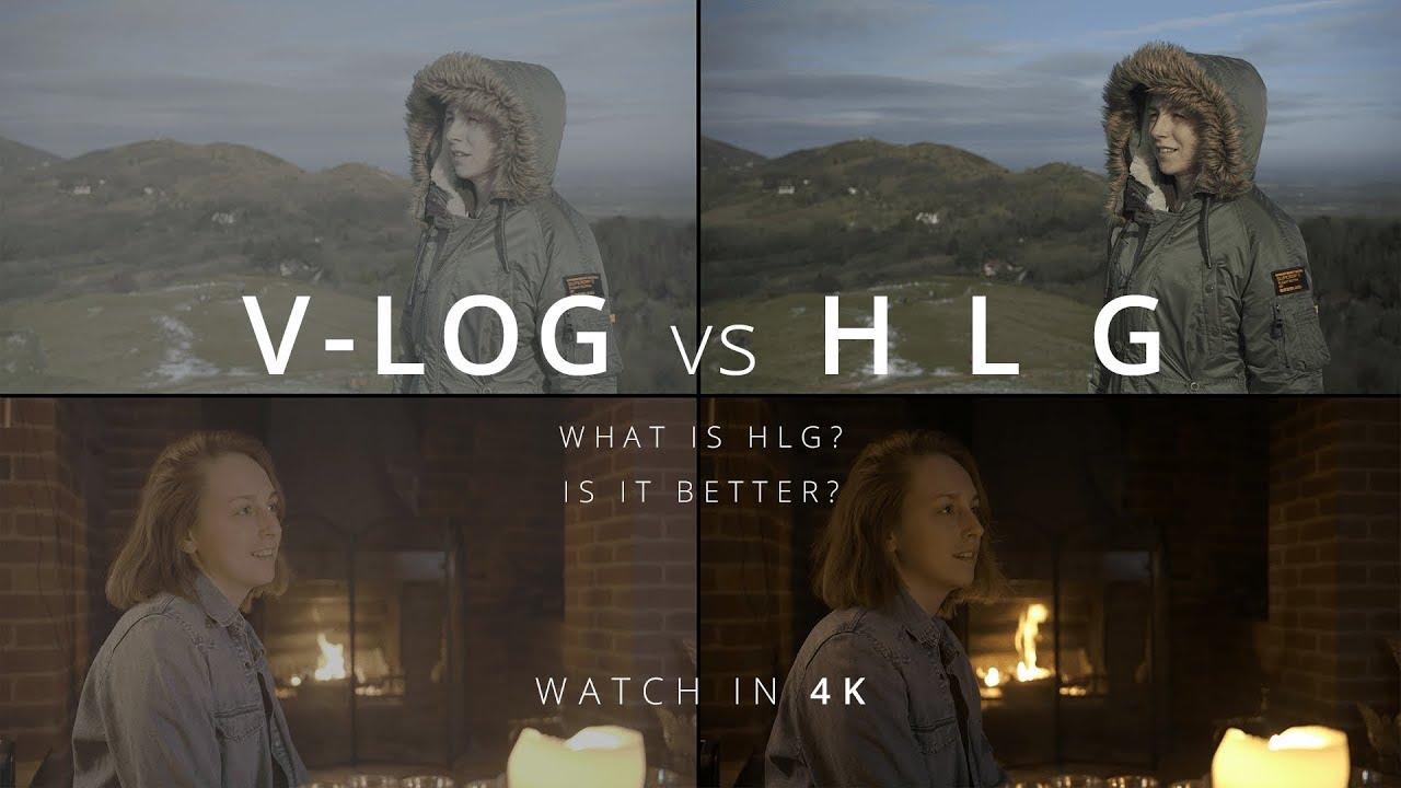 Should I shoot in V-Log or HLG? What even is HLG? + FREE LUTS