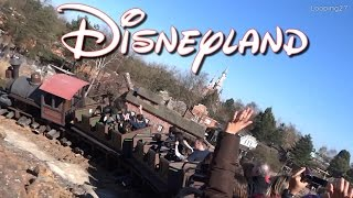 Disneyland Paris - Attraction Big Thunder Mountain/Le train de la mine HD (Complete)