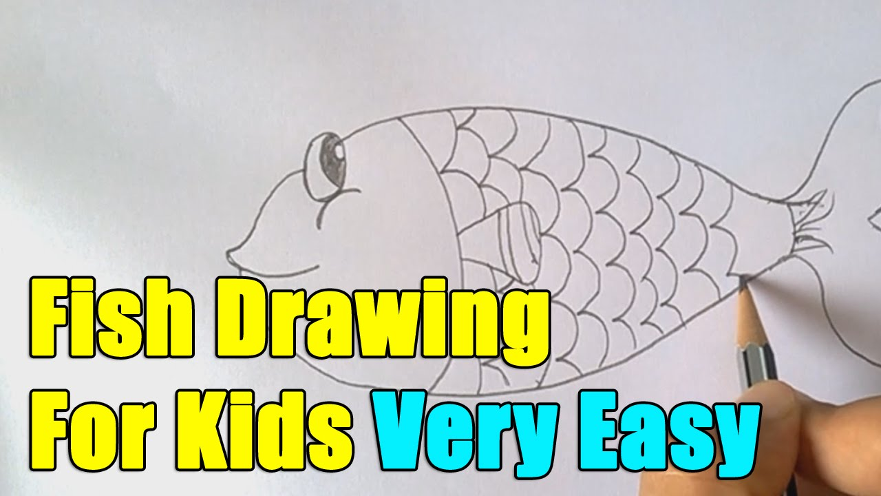 How To Draw Fish Step By Step Easy Youtube