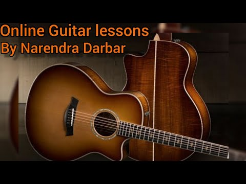 Online Guitar lessonsFor any AgesBy Narendra Darbar