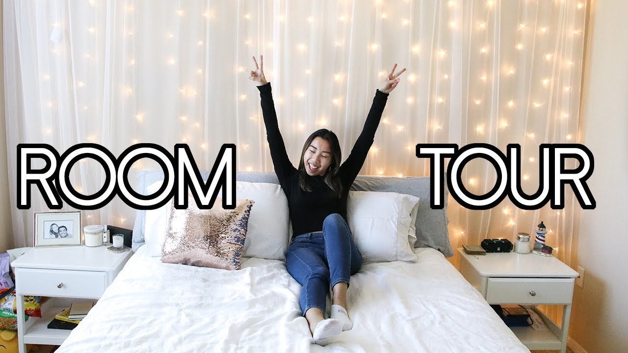 Tumblr Room Tour 2018! Neutral and Aesthetic Room Decor ... on Room Decor Tumblr id=64536