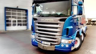 Sound Recording Session - Scania R580 V8 Recovery Truck