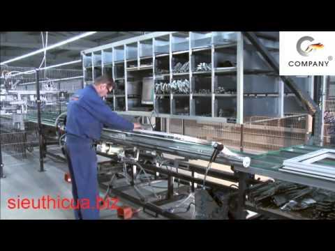 Dây chuyền sản xuất cửa nhựa