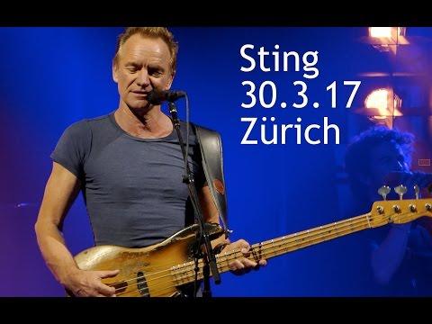 Sting 30.3.17 Zürich Samsung Hall