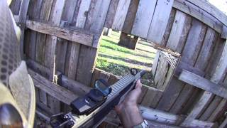 Karmageddon Airsoft Hellhounds Open Play 01022106 Game 1 Double D POV