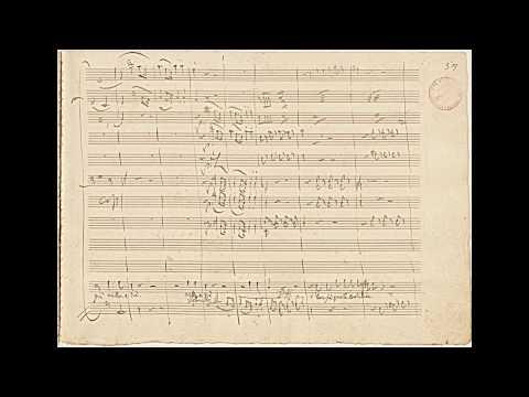 """Mozart: """"Don Giovanni"""" - 'Ah! Chi Mi Dice Mai' E 'Madamina, Il Catalogo è Questo' (autograph)"""