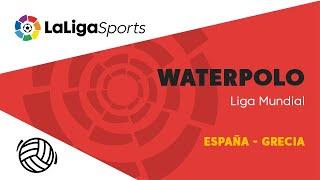 📺 Liga Mundial de Waterpolo: España - Grecia thumbnail