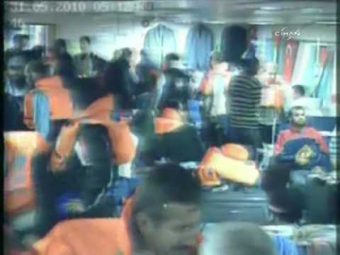 Gaza Freedom Flotilla Attacked By Israel