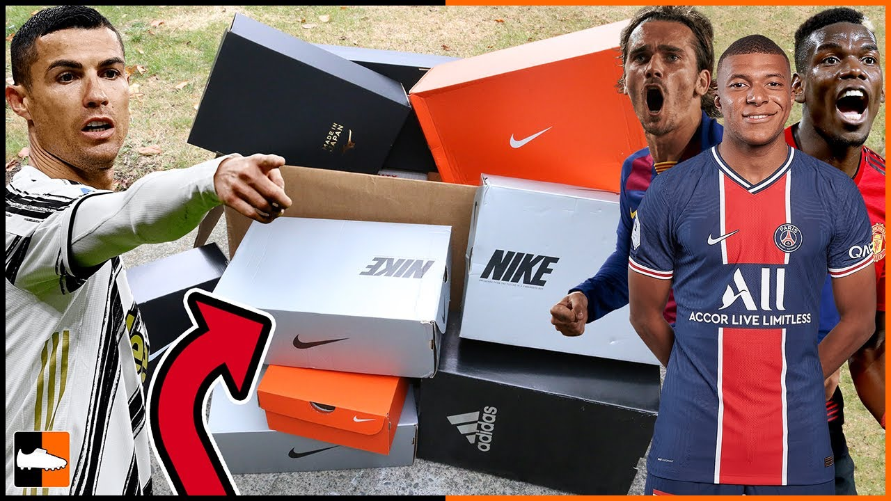 What's IN The NEW Boxes? ⚽ Ronaldo, Mbappe, Pogba Boots....