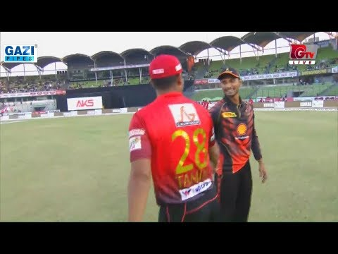 Winning Moments of Khulna Titans against Comilla Victorians