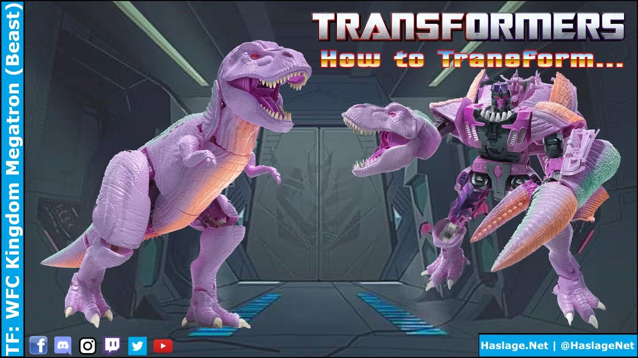 Transformers: WFC Kingdom Megatron (Beast) Review by HNE Games