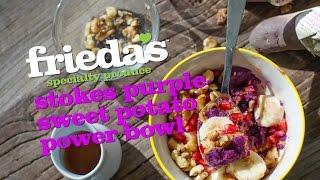 Purple Sweet Potato Breakfast Bowl