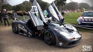 McLaren F1 GTR #01R - Accelerations and Flybys - Le Mans 1995 Winning Car