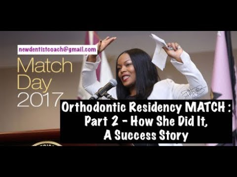 Orthodontic Residency, Part 2 MATCH Day Success | Dr Darwin Hayes DDS