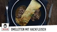 Omeletten mit Hackfleisch | theclub.ch | Rezept #159