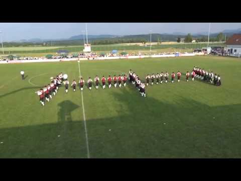 Wind band Maria Neustift - marching contest 2017