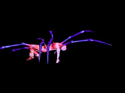 Arachnid Creature Walk Test (Not yet hand-animated limbs) - Work in Progress